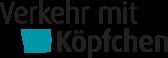Logo Verkehr mit Köpfchen